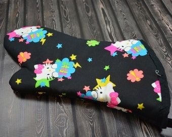 Hello Kitty Inspired Oven Mitt