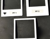 White Polaroid Die Cut Frames Project Life, Scrapbooking, Card Making