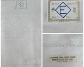 Irish Linen Damask Tablecloth Hem Stitched New with Tags
