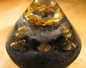 Tiger Eye and Sodalite Small Orgone Accelerator
