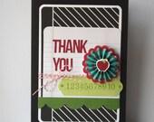 Teacher Thank You Handmade Card
