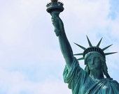 Fine Art Photography, Statue of Liberty, New York City, NYC, colour, 8x12 shown, 8x10 and other sizes available Lady Liberty