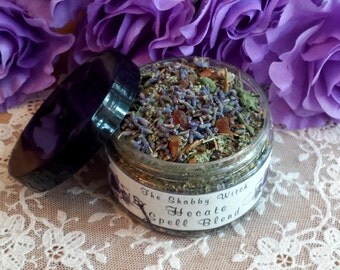 Hecate Herbal Blend, Dark Goddess Herbal Blend, Fill Sachet Bags, Gris Gris Bags