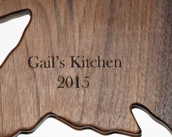 Customize Me, personalized gift, custom engraved, personalized board, engraved wood board, 5th anniversary gift, wood wedding gift