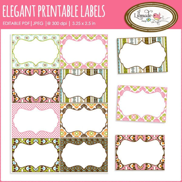 Printable labels editable pdf labels task cards printable for Blank task card template