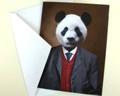 Parker the Prosperous Panda - Note Card