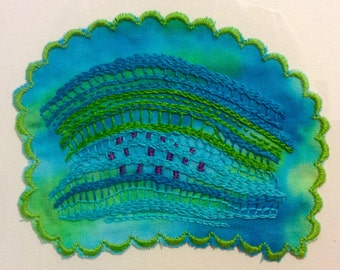 Embroidered Art Work, Untitled, No. 10