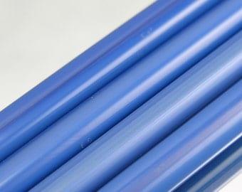 6410-0 Czech Pearl Bavarian Blue Shampoo Glass ~96 COE - 1/4 pound