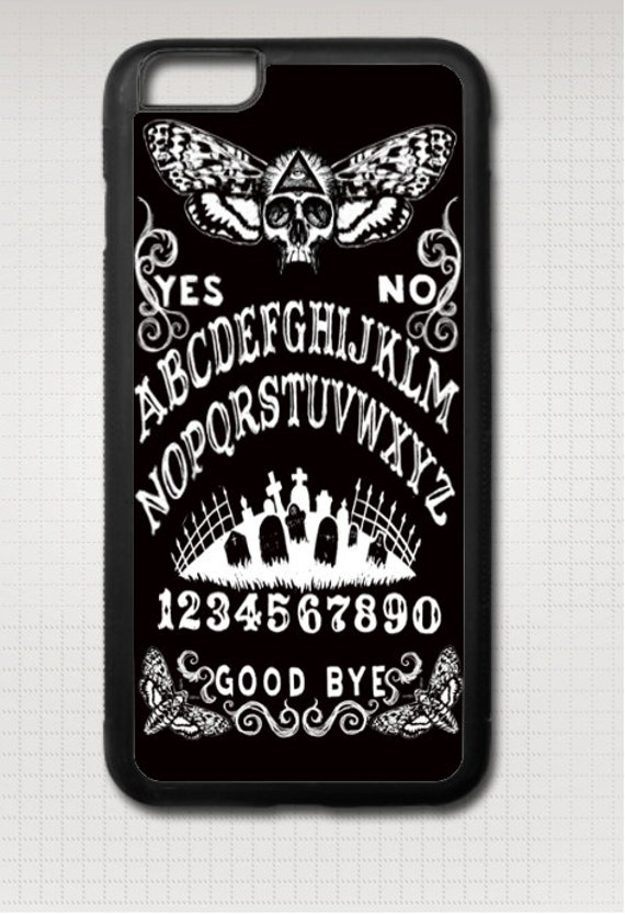 Ouija with Skull Head Moth iphone case