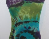 V neck Turquoise Swirl Cami Size Medium