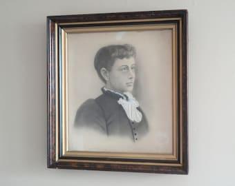 Ornate Antique Portrait