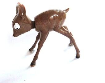 Vintage Fawn Nodder Figurine