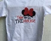 Take Me to the Mouse Girl's Shirt