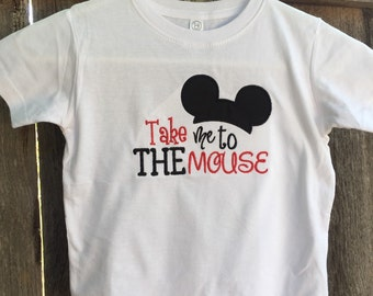 Take Me to the Mouse Boy's Shirt
