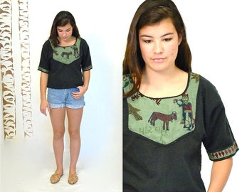 African Top   //  Embroidered Top  //  THE IMAGE