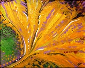 GINKGO - original oil painting 14x11