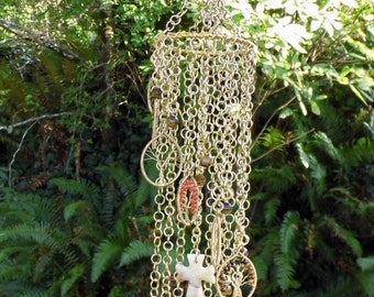 Tree Of Life Artisan Handmade Mobile Wind Chime