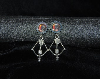 World of Warcraft (WoW) inspired Hunter earrings - FREE DOMESTIC SHIPPING