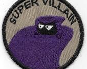 Super Villain Geek Merit Badge Patch