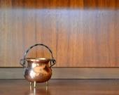 vintage coppercraft guild copper cauldron