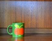 vintage west german waechtersbach apple mug