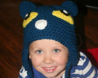 Made to order Pete the Cat inspired hat