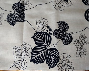 Vintage Japanese Indigo Floral Pillow Cover 14 x 20