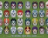 NFL Sugar Skull League 36x24 Poster