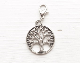 Tree of Life Charm / Charm Bracelet / Planner Charm Antique / Silver Glam Planning / Pendant Tree Nature Lover Gift Outdoorsy Family Tree