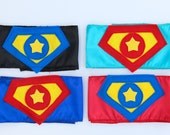 Ships Fast - Childs Custom SHIELD SUPERHERO BELTS - 4 choices - Coordinate perfectly with all our Superkid Capes - Superhero Accessory