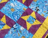 Ocean Friends Lap Quilt