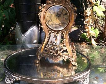 Vintage clock ornate