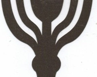 Host and chalice silhouette
