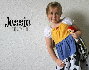 Jessie the Cowgirl - Disney Inspired Dress