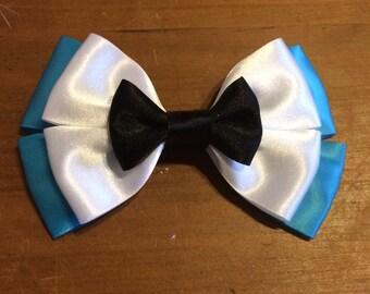 Disney Inspired Alice in Wonderland Hair Bow