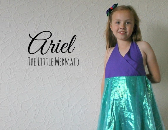 Ariel The Little Mermaid - Disney Inspired Dress
