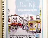 Colouring Book: Paris Café