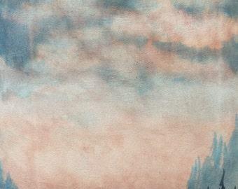 Watercolor Landscape Watercolor Painting Original Watercolor Landscape Painting Watercolor Art Watercolor Landscape Original Art  SALE
