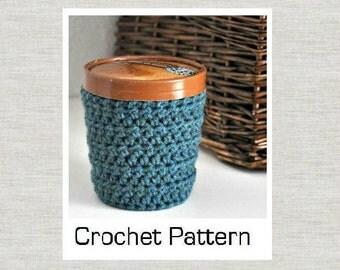 PDF Crochet Pattern for Ice Cream Cozy Sleeve