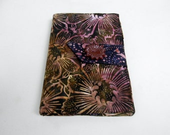 Brown Sunflower Batik Kindle  Keyboard, Kindle Fire Cover