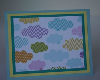 Colorful Clouds Stationery (4)