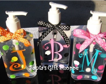 Personalized Hand Sanitizer - GREAT TEACHER Gift - Children Adults Baby - Kitchen - Bathroom - Baby Shower Favors -  Gifts