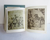 Vintage Book - Drawings of the Masters - Spanish Drawings 10th to 19th Century - 1964 Copyright