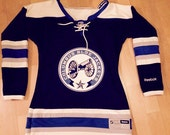 Columbus blue jackeys jersey dreaa for courtney