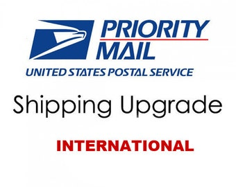 Upgrade to Priority Shipping International