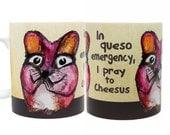 Queso Mouse Mug | Funny Mug | Quote Mug