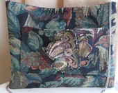 Fall Tapestry Purse with Flower with Chain