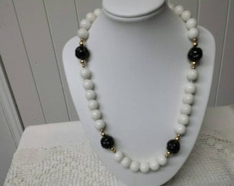 Glass Beaded Strand Necklace