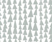 Changing Pad Cover - Grey Blue Baby Bedding - TeePee Nursery Bedding / Tribal Baby Bedding / Contoured Changing Pad Cover / Diaper Pad Cover
