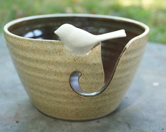 SALE* Basic Birdie Yarn Bowl, Birdie Yarn Bowl, Yarn Bowl